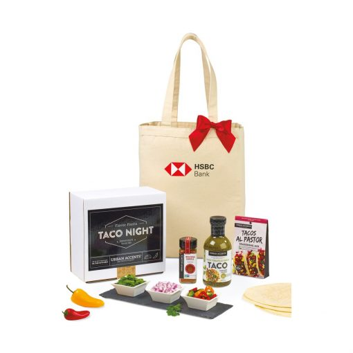 Taco Night Gift Set - Natural