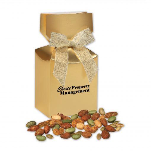 Honey Mustard Protein Mix in Gold Premium Delights Gift Box