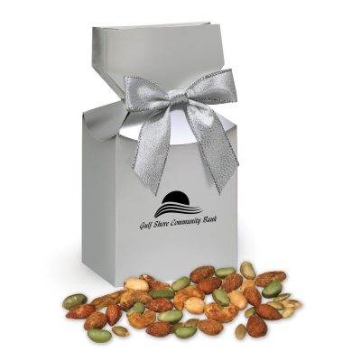 Honey Mustard Protein Mix in Silver Premium Delights Gift Box