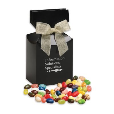Jelly Belly® Jelly Beans in Black Premium Delights Gift Box