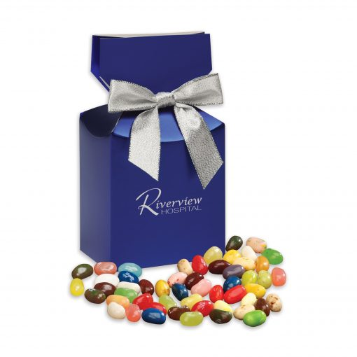 Jelly Belly® Jelly Beans in Blue Premium Delights Gift Box