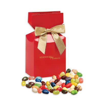 Jelly Belly® Jelly Beans in Red Premium Delights Gift Box