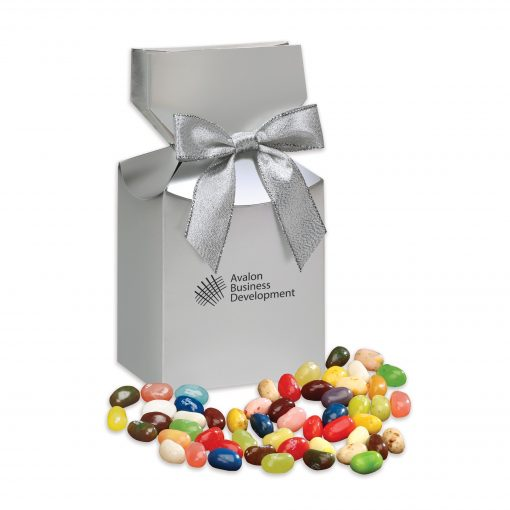 Jelly Belly® Jelly Beans in Silver Premium Delights Gift Box