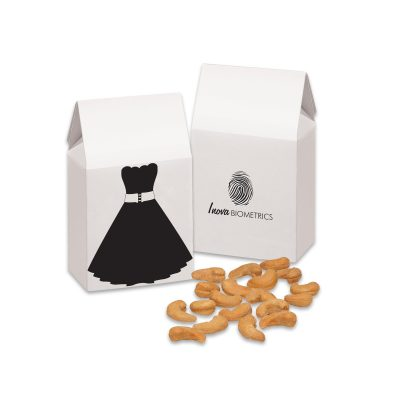 Little Black Dress Gift Box with Extra Fancy Jumbo Cashews
