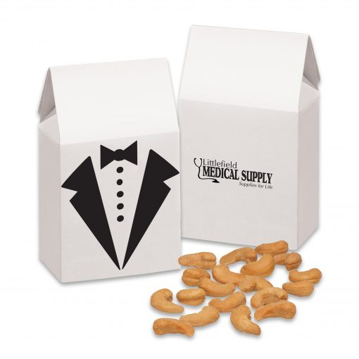 Tuxedo Gift Box with Extra Fancy Jumbo Cashews