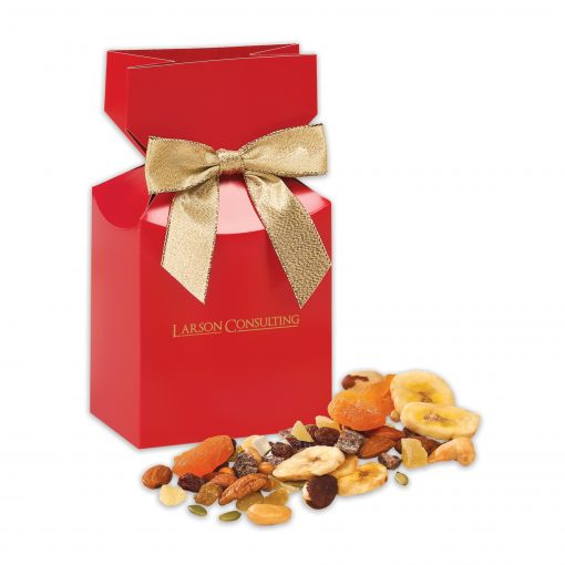 Western Trail Mix in Red Premium Delights Gift Box
