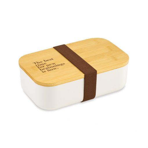 Satsuma Bento Lunch Box - White