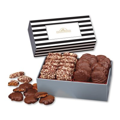 Toffee & Turtles in Gift Box with Stripes Sleeve