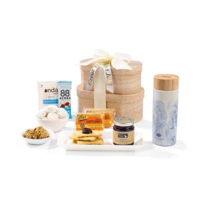Token Of Appreciation Gift Box - Blue Watermark