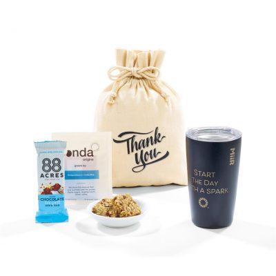 MiiR® Take A Break Gift Set - includes 16 Oz. Tumbler - Black Powder