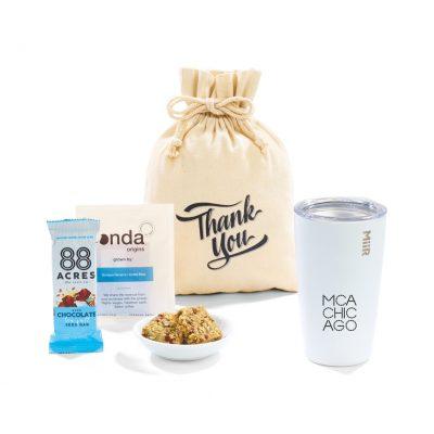 MiiR® Take A Break Gift Set - includes 16 Oz. Tumbler - White Powder