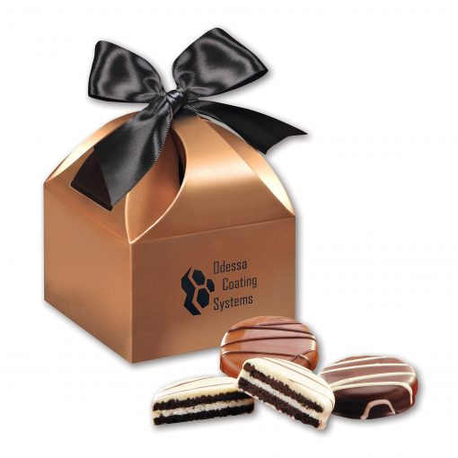 Chocolate Covered Oreo® Cookies in Copper Classic Treats Gift Box