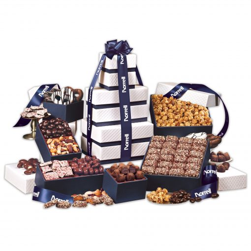 """The """"Park Avenue"""" Ultimate Tower of Treats in Navy"""