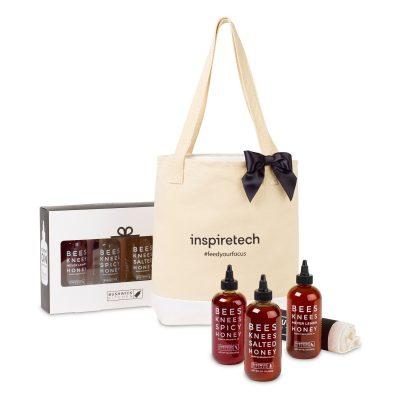 Bushwick Kitchen Bees Knees Honey Trio Gift Set - Natural
