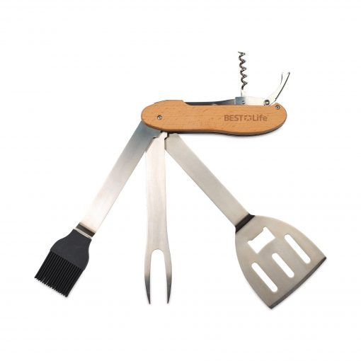Grill & Chill BBQ Multi Tool Set - Stainless Steel