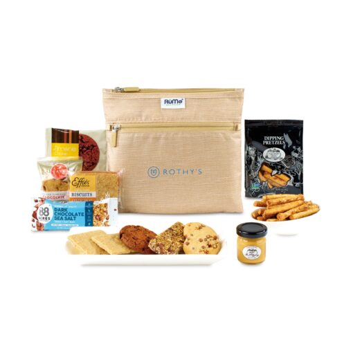 Goodies For Good Rume® Snack Pack - Burlap Pattern