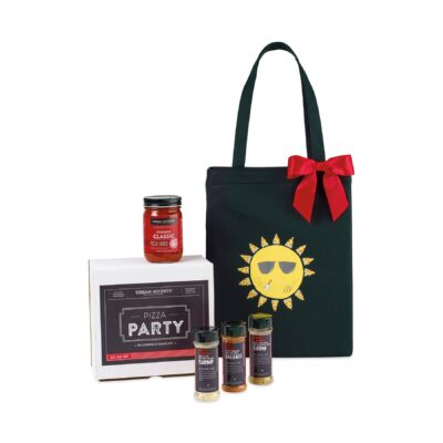 Pizza Party Gift Set - Black