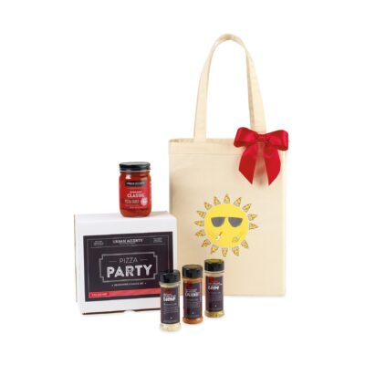 Pizza Party Gift Set - Natural