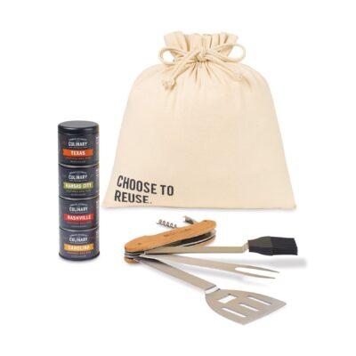 Roadtrip BBQ Gift Set - Natural