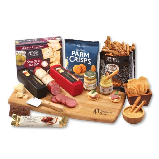 Shelf Stable Artisan Meat & Cheese Board