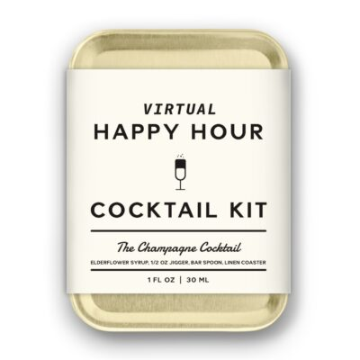 W&P Champagne Craft Cocktail Kit - Gold